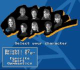 Nickelodeon GUTS SNES Select a character