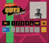 Nickelodeon GUTS SNES Results of the events