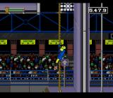 Nickelodeon GUTS SNES Climbing a rope