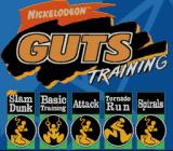 Nickelodeon GUTS SNES Pick a single event to train in