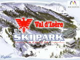Val d'Isère Ski Park Manager Windows Splash screen