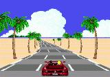 OutRun Genesis narrow roads are hard to drive on
