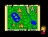 Alex Kidd in Miracle World SEGA Master System While Alex is enjoying his favorite rice ball, we are presented with a map of Radactian