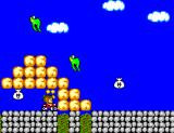 Alex Kidd in Miracle World SEGA Master System Alex on his motorcycle