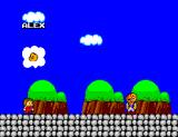 Alex Kidd in Miracle World SEGA Master System Playing Janken with Gooseka