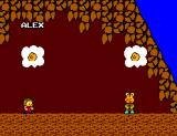 Alex Kidd in Miracle World SEGA Master System Playing Janken with Chokkinna
