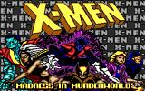 X-Men DOS Title screen