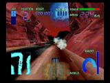 Cyber Speedway SEGA Saturn Missles are your only weapon