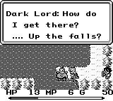 Final Fantasy Adventure Game Boy Meeting Of Evil
