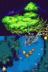 Magical Starsign Nintendo DS Forest planet