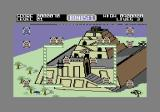 Bombo Commodore 64 I was touched by an enemy and lost a life.