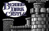 Beyond Dark Castle Commodore 64 Title screen