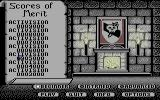 Beyond Dark Castle Commodore 64 The high scores