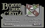 Beyond Dark Castle Commodore 64 Title and credits