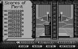 Beyond Dark Castle Commodore 64 Opening of the secret door.