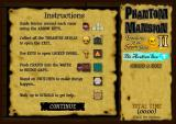 Phantom Mansion II: Treasures of the Seven Seas - The Arabian Sea Browser Instructions