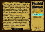 Phantom Mansion II: Treasures of the Seven Seas - The Arabian Sea Browser The story