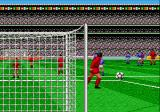 World Championship Soccer Genesis The view is not top-down only by goal kick