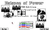 Balance of Power: The 1990 Edition Amiga A few low res pictures of big events begin to appear...