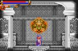 Castlevania: Harmony of Dissonance Game Boy Advance Save point