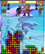 Super Fighter Block Battle Symbian A game in progress