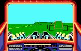 Stunt Track Racer DOS Your opponent is in the lead