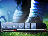 FIFA Manager 08 Windows Main menu screen