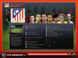 FIFA Manager 08 Windows First training speech with the team