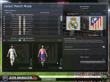 FIFA Manager 08 Windows From this screen you can select the view mode of all the matches of the week, you can see the complete match in 3d or different text modes