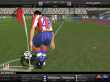 FIFA Manager 08 Windows Simao preparing the corner kick