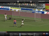 FIFA Manager 08 Windows Zé Castro scores for Atletico de Madrid from a direct kick