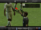 FIFA Manager 08 Windows Red card for Diarra