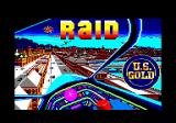 Raid Over Moscow Amstrad CPC Loading screen (as Raid!)