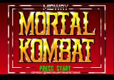 Mortal Kombat Genesis Title screen