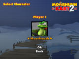Crazy Chicken: Kart 2 Windows Selecting your character