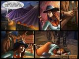 Rangy Lil's Wild West Adventure Windows Rangy Lil unconscious
