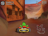 """Crazy Chicken: Kart 2 Windows The temple area in """"Egypt"""" track"""