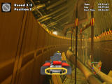 Crazy Chicken: Kart 2 Windows Flying over the pipes