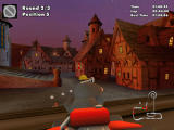 Crazy Chicken Kart 2 Windows Driving on the village