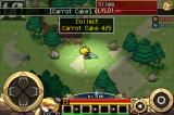 Zenonia iPhone Roaming at night time, fighting a slime, collecting an item for a mini-quest