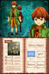 Avalon Code Nintendo DS The boy character