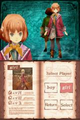 Avalon Code Nintendo DS The girl character