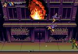 The Adventures of Batman & Robin Genesis Robin is attacking the holligans while the bank is on fire