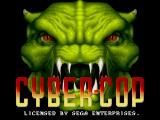 Corporation Genesis Title screen (as Cyber-Cop)
