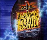 WCW Backstage Assault PlayStation Title screen