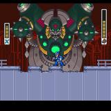 Mega Man X3 PlayStation The first end-stage boss is a huge dragon with some heavy hitting weapons.