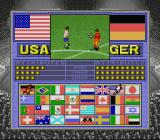 Champions World Class Soccer SNES Select your opponent.
