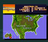 Michael Andretti's Indy Car Challenge SNES The 1st track