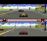 Michael Andretti's Indy Car Challenge SNES 2 player split screen