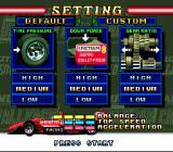 Michael Andretti's Indy Car Challenge SNES Car settings